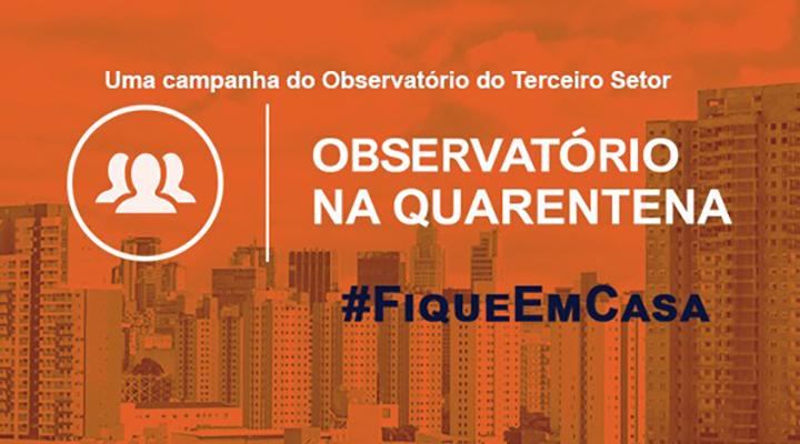 Campanha 'Observatório na Quarentena'