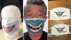 Artistas doam suas ilustrações para máscaras beneficentes