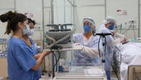 Cidade de SP tem mais de 2 mil profissionais da saúde com Covid-19