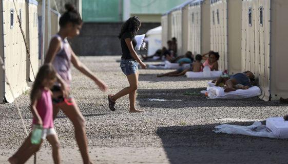 Uma em cada quatro crianças migrantes venezuelanas está sem os pais