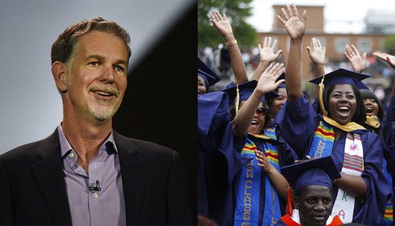 Cofundador da Netflix doa US$ 120 milhões para universidades negras