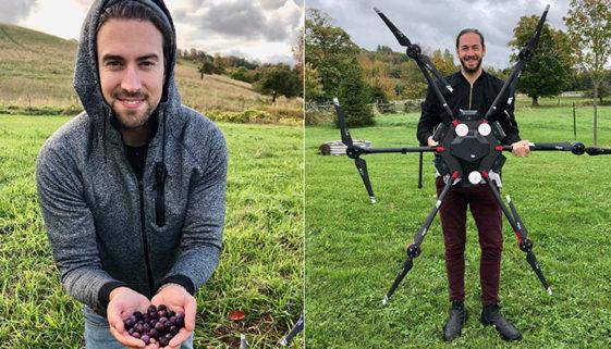 Empresa canadense planeja plantar 40 mil árvores com a ajuda de drones