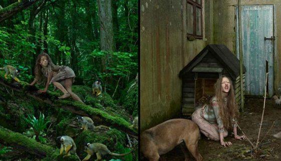 Moglis reais: as tristes histórias de meninas e meninos criados por animais