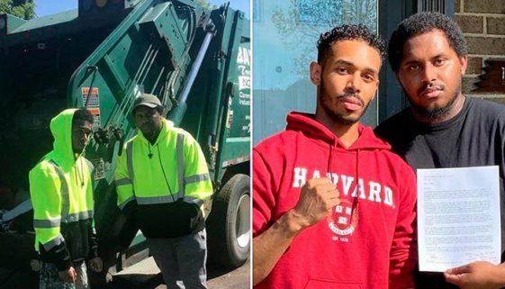 Jovem que trabalhava como coletor de lixo é aprovado em Harvard