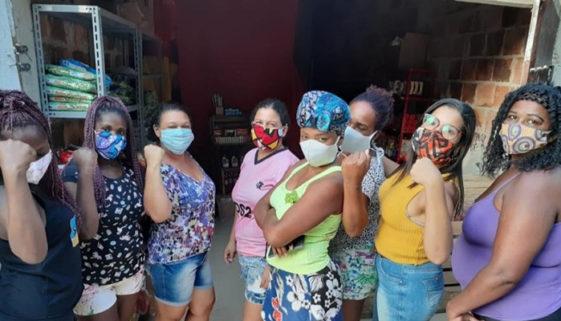 RJ: mulheres criam mercado solidário para ajudar moradores do bairro