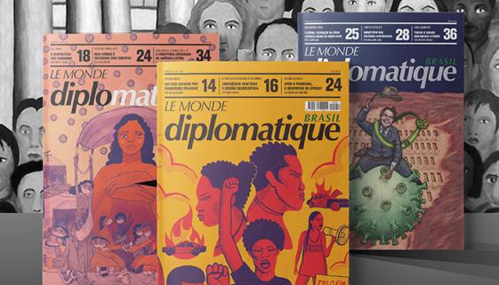 Le Monde Diplomatique Brasil volta a circular na versão impressa