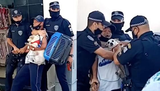 Idoso em situação de rua é agredido por agentes da Guarda Civil