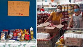 Estudante cria mesa solidária para pessoas carentes no Ceará