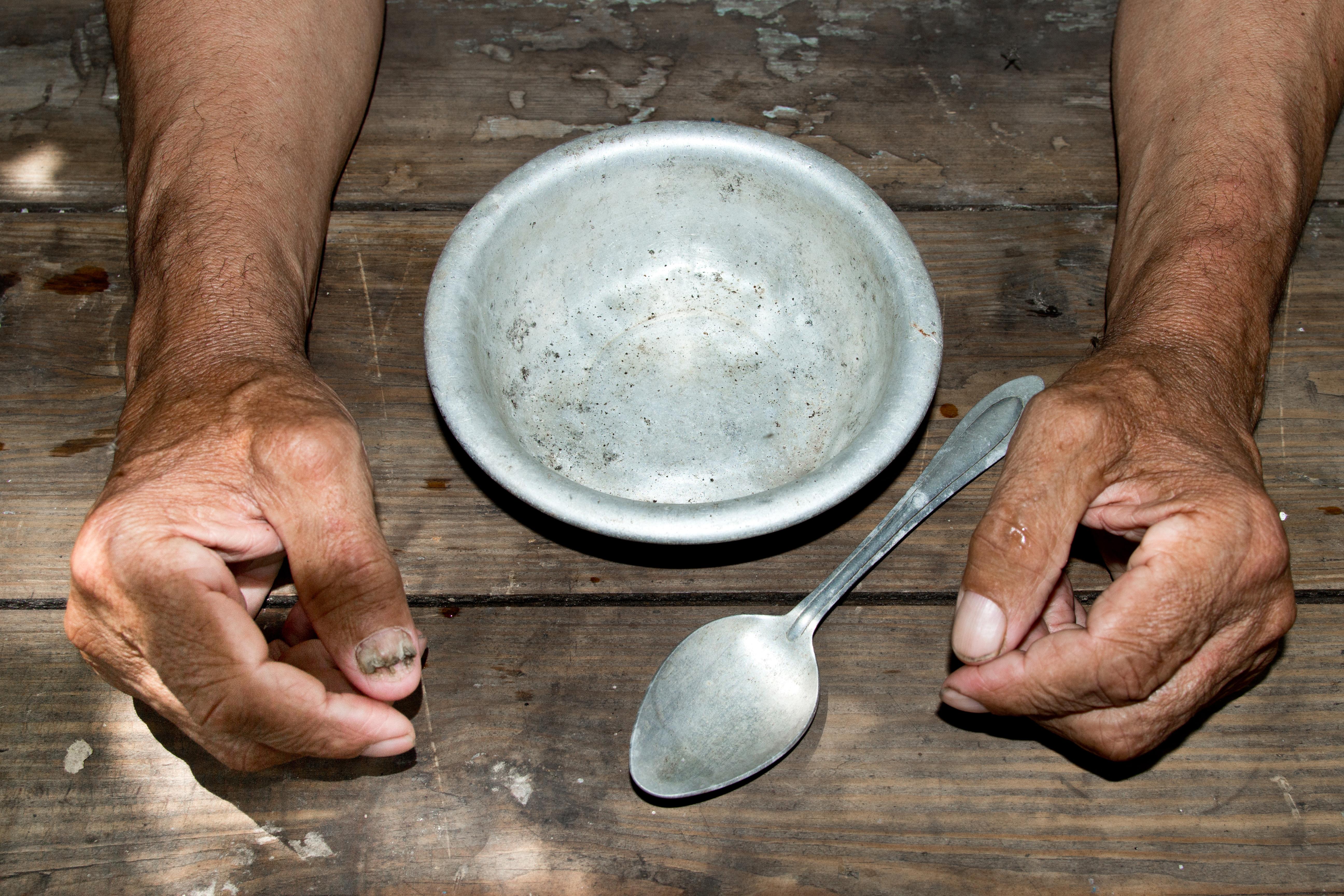 Realidade ignorada: 1 em cada 3 no Brasil sofre com privação de comida